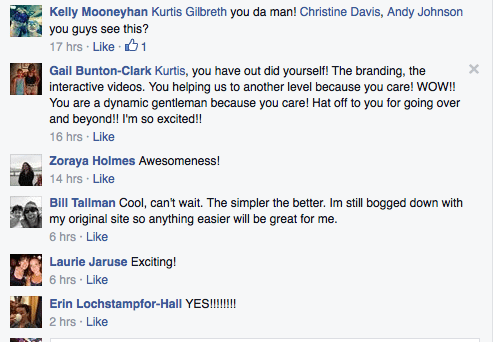 More WhoKnowsaGuy Fitness Customers Commenting About Our Newest Beachbody Coach Website