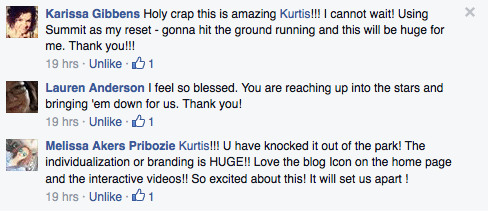 WhoKnowsaGuy Fitness Customers Commenting About Our Newest Beachbody Coach Website